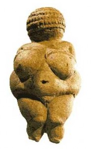 "The ""Venus"" of Willendorf, c. 30,000 years old, dating from a time when all human imagery was feminine. In later times — when all human imagery was still feminine — images were more what we should expect of Divine Iconography. What did this image mean to its makers? And what should it mean to us?"